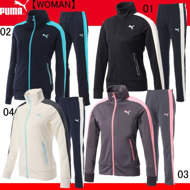 トレーニングジャケット パンツ 上下セット(WOMAN)【PUMA】プーマ ● レディースウエア(920200/920201)*60