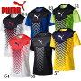 FTBLTRGグラフィックSSトレーニングシャツ【PUMA】プーマサッカープラシャツ17SS(655385)