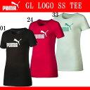 GL LOGO SS TEE (ジュニア/ガール)【PUMA】プーマ● JR Tシャツ (839051)*51