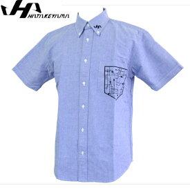 限定 Kdesign ボタンダウンシャツ【ハタケヤマ】 野球 トレーニングウェア17SS(KF-17B)*20