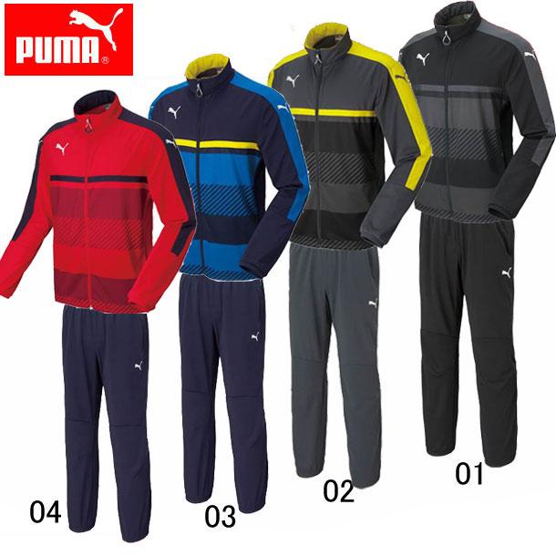 TWV トレーニングジャケット上下セット 【PUMA】プーマ ● トレーニングウェア上下セット(654802/654803SET)*62