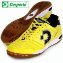 カンピーナス JP5【Desporte】デスポルチ フットサルシューズ インドア17FW(DS1430-YEL/BLK)*20