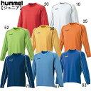 ジュニア長袖プレゲームシャツ【hummel】ヒュンメル ● サッカーウェア(HJG2013)*65