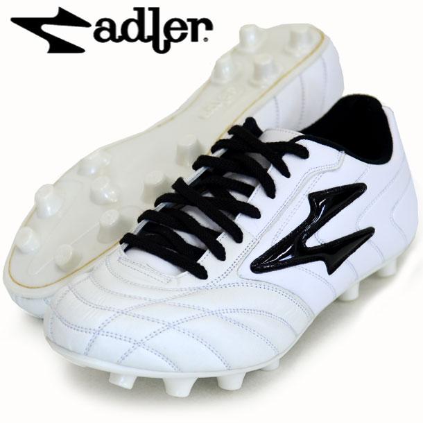 ジローナ MS【adler】アドラー サッカースパイク17FW(AD168-WHITE/BLACK)*20