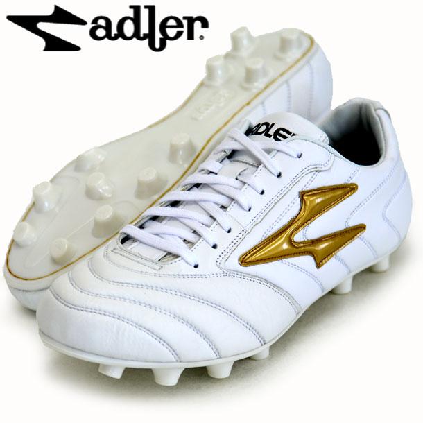 レッジオ MS【adler】アドラー サッカースパイク17FW(AD803-WHITE/GOLD)*20