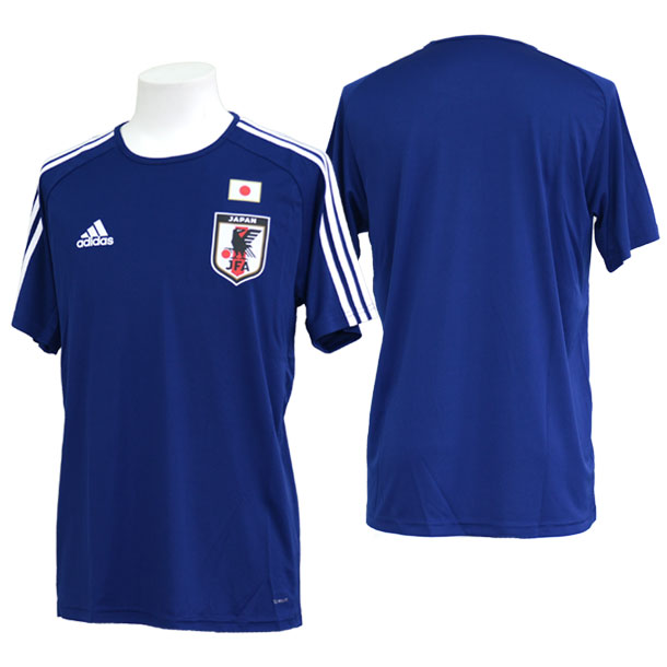 サッカー日本代表ホームレプリカTシャツ【adidas】アディダス 日本代表 ウェア プラシャツ18SS(DTQ75)*00