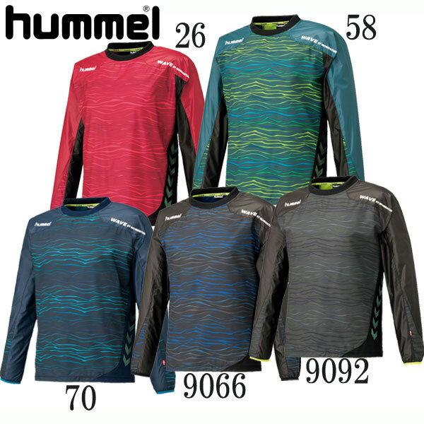 ピステトップ【hummel】ヒュンメル ●サッカー トレーニングシャツ ピステトップ18SS(HAW4180)*49