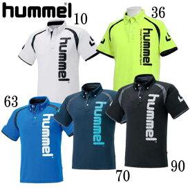 UT-ポロシャツ【Hummel】ヒュンメルウェア ポロシャツ18SS(HAP3042)*56