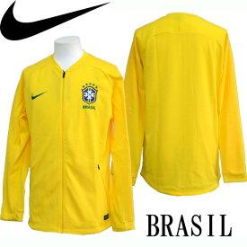 ブラジル代表2018 アンセムジャケット【NIKE】ナイキ サッカー レプリカウェア18SS(893584-749)*41
