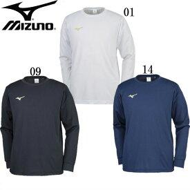 Tシャツ(長袖)(ユニセックス)【MIZUNO】ミズノトレーニングウエア ミズノ長袖Tシャツ18SS (32JA8132)*30