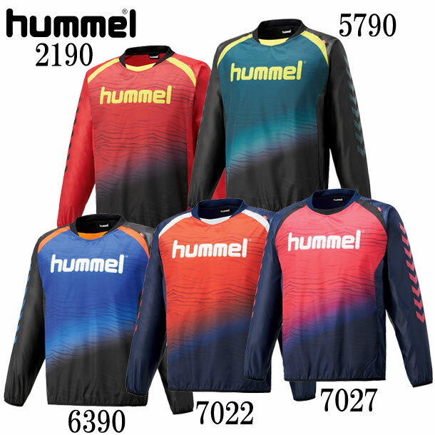 トライアルコート【hummel】ヒュンメル ウィンドブレーカーシャツ18AW (HAW4182)*60