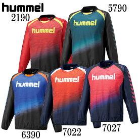トライアルコート【hummel】ヒュンメル ウィンドブレーカーシャツ18AW (HAW4182)*68