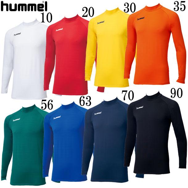 あったかインナーシャツ【hummel】ヒュンメル アンダーシャツ18AW(HAP5147)*28