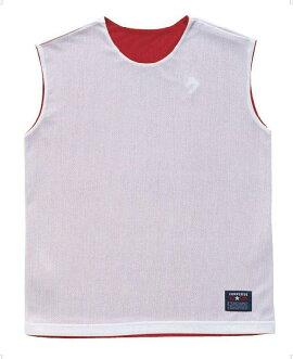 1Fレディースリバーシブルシャツ【CONVERSE】コンバースレオタードバスケット11FW(cb33704-6411)