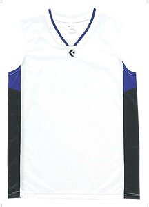 1F ジュニアゲームシャツ【CONVERSE】コンバースケームシャツ・パンツバスケット11FW(cb54702-1119)*26