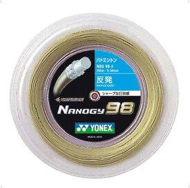ナノジー98(200M)【YONEX】ヨネックスガツト・ラバー(NBG982)*20