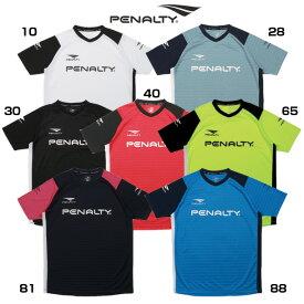 オフィシャルプラトップ 半袖【penalty】ペナルティーウェア フットサル20ss r2jar2ju(pu0004)*41