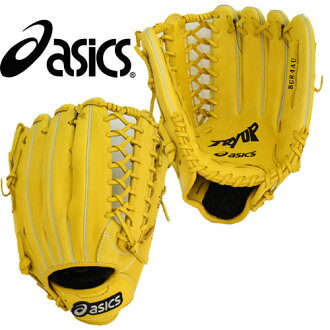 Glove 13FW (BGR4AU) for the try up (for the outfielder) ASICS baseball soft expression for the soft expression ※50
