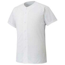 『ミズノプロ』シャツ/オープンタイプ(野球)(01ホワイト)【MIZUNO】ミズノ野球 ウエア ユニフォームシャツ(12jc6f0101)*30