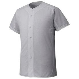 『ミズノプロ』シャツ/オープンタイプ(野球)(05グレー)【MIZUNO】ミズノ野球 ウエア ユニフォームシャツ(12jc6f0105)*30