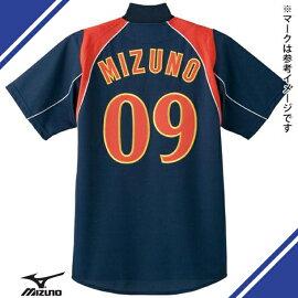 09ジャパンモデルシャツ(ジュニア/野球)【MIZUNO】ミズノ野球ウエアユニフォームシャツ(52MJ083)