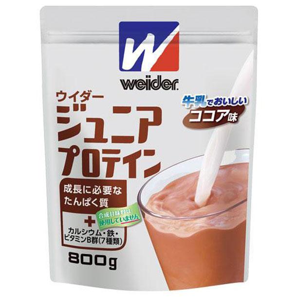 森永製菓/ウイダー ジュニアプロテイン ココア味200g【MIZUNO】ミズノフィットネス サプリメント ウイダー(28MM72216)*24