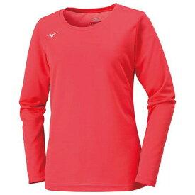 シャツ(Uネック)(レディース)【MIZUNO】ミズノトレーニングウエア ミズノクロスティック Tシャツ/ポロシャツ(32MA6850)*64