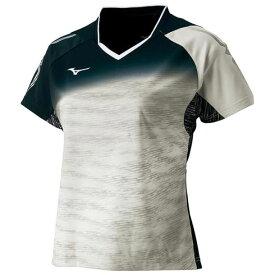 ゲームシャツ(2018卓球女子日本代表モデル) レディース【MIZUNO】ミズノ卓球 ウエア 全日本モデル(82JA8201)*31