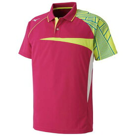 ドライサイエンスゲームシャツ(ラケットスポーツ)【MIZUNO】ミズノテニス ウエア ゲームウエア(62JA8507)*62
