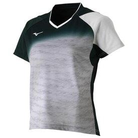 ドライサイエンスゲームシャツ(ラケットスポーツ) レディース【MIZUNO】ミズノテニス ウエア ゲームウエア(62JA8708)*30