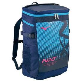 N-XTバックパック(30L)(81ネイビー×マゼンタ)【MIZUNO】ミズノフットボール/サッカー バッグ(33JD0000)*25