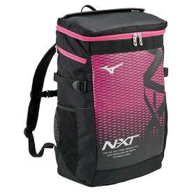 N-XTバックパック(30L)(91ブラック×マゼンタ)【MIZUNO】ミズノフットボール/サッカー バッグ(33JD0000)*25