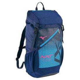 N-XTバックパック(40L)(81ネイビー×マゼンタ)【MIZUNO】ミズノフットボール/サッカー バッグ(33JD0001)*23