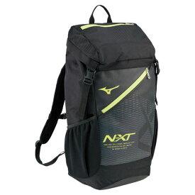 N-XTバックパック(40L)(93ブラック×ライム)【MIZUNO】ミズノフットボール/サッカー バッグ(33JD0001)*23