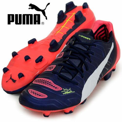 エヴォパワー 1.2 FG【PUMA】プーマ ● サッカースパイク 15SS(103171-01)*77