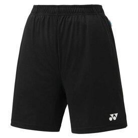 レディース ニットストレッチハーフパンツ【Yonex】ヨネックステニスゲームパンツ W(25008-007)*27