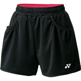 WOMEN ショートパンツ25019【Yonex】ヨネックステニスゲームパンツ W(25019-007)*26
