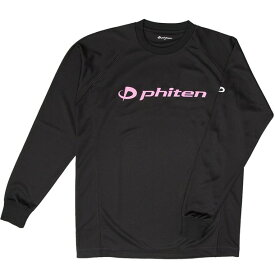RシャツSPキュウカンソッカンLSBK(PKLL【PHITEN】ファイテンボディケアナガソデTシャツ(jg180006)*01