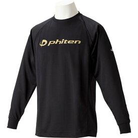 RシャツSPキュウカンソッカンLSBK(キン)M【PHITEN】ファイテンボディケアナガソデTシャツ(jg180204)*01
