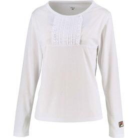 93 ロングスリーブシャツ【fila】フィラテニスロングTシャツ W(vl2049-01)*11