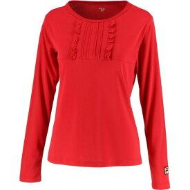 93 ロングスリーブシャツ【fila】フィラテニスロングTシャツ W(vl2049-11)*11