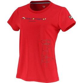 93 グラフィックTシャツ【fila】フィラテニスTシャツ W(vl2045-11)*11