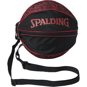 ボールバッグ グラフィッティレット【spalding】スポルディングバスケットボールケース(49001gr)*10