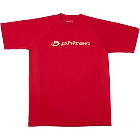 RシャツSPキュウカンソッカンSSRD(キン)M【PHITEN】ファイテンボディケアハンソデTシャツ(jg168004)*01