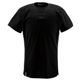 9b824a4f1dfe39 ユニフォームシャツ ハーフボタンシャツ【DESCENTE】デサントヤキュウソフトユニフォーム シャツ・M(