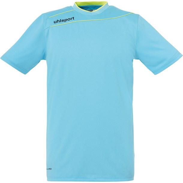 ストリーム3.0 GKショートスリーブ【uhlsport】ウールシュポルトサッカーキーパーシャツ(1005704-01)*10