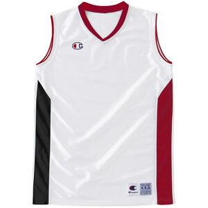 WOMENS GAME SHI【Champion】チャンピオンバスケットゲームシャツ W(cblr2203-wr)*19