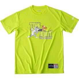 Tシャツートム&ジェリーspalding(スポルディング)バスケットハンソデTシャツ(smt190580-lgrn)*11