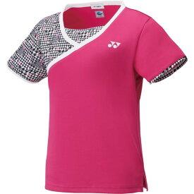 ウィメンズゲームシャツ【yonex】ヨネックステニスゲームシャツ W(20496-654)*21
