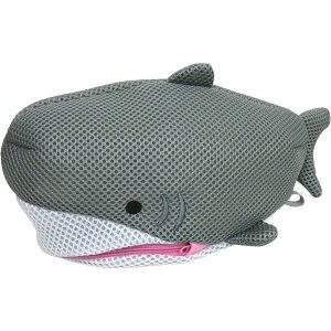 [即出荷][サメ Sサイズ] 洗濯ネット おしゃれ 洗濯用品 ランドリーネット ISE-0623 サメ 洗濯 下着 靴下 小物 おしゃれ着洗い ネット メッシュ トラベル かわいい 旅行 ジム ポーチ 動物 生き物